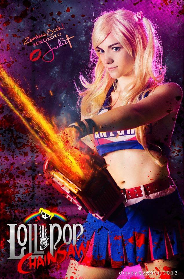 11 Juliet Starling Cosplays video games lollipop chainsaw games fantasy  Juliet Starling