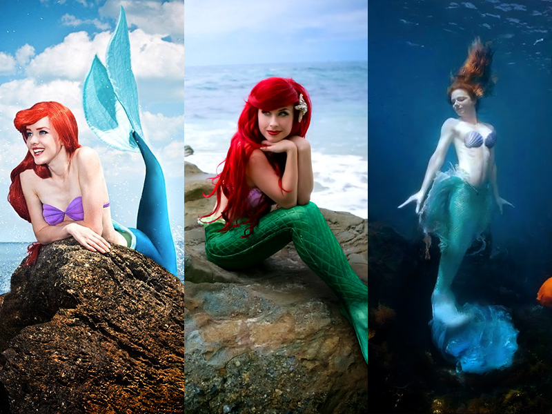 ariel the little mermaid cosplay collection rolecosplay