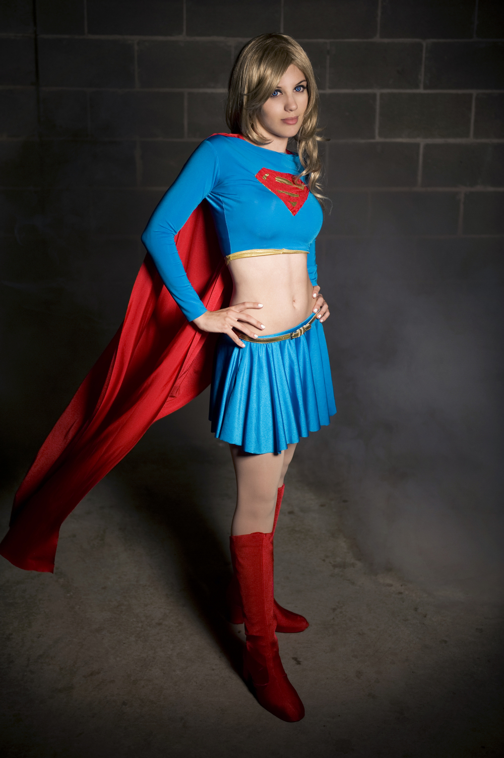 Badluckkitty is Supergirl — Photo by Krisez