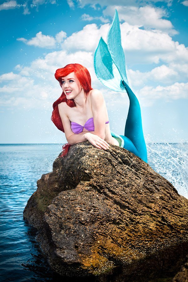 Nelly Lafeison  is Ariel, The Little Mermaid
