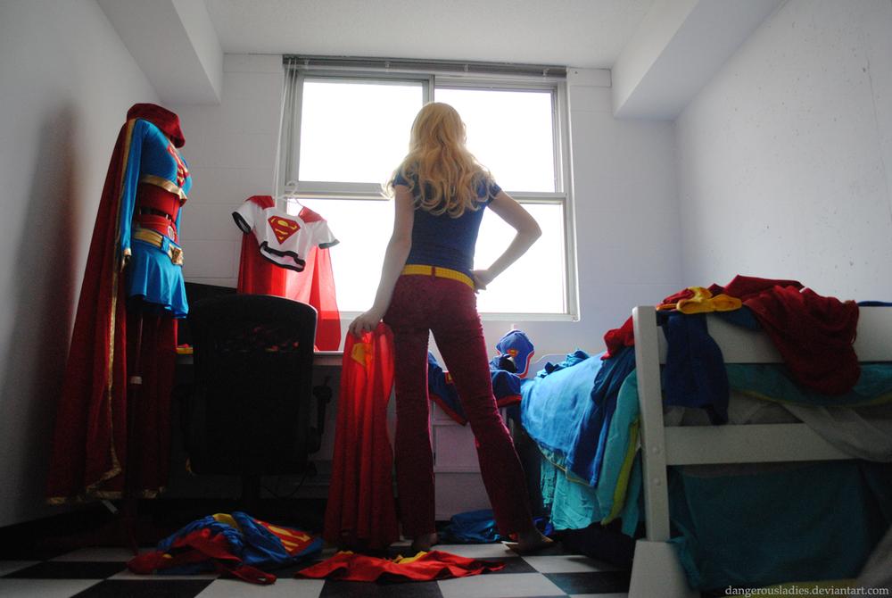 Dangerousladies is Supergirl