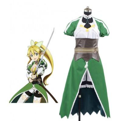 Sword Art Online SAO Leafa cosplay costume