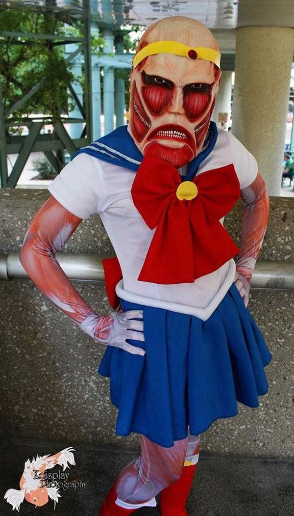 Top 10 Most Ingenious Attack On Titan Cosplay Works ...