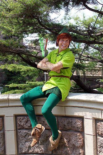 Dressed Like Peter Pan and Never Grow Up