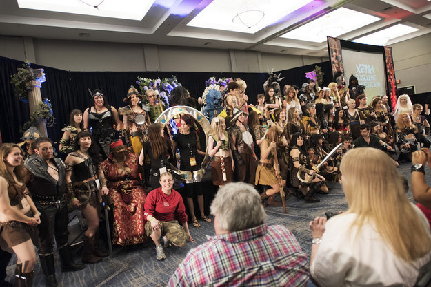 Hundreds of Xena fans gathered at the Burbank Marriott Convention Center to celebrate the last official Xena Convention.