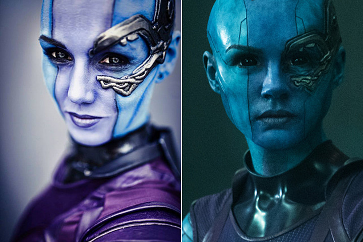 Deadliest Cosplayer in the Galaxy - Nebula - Rolecosplay
