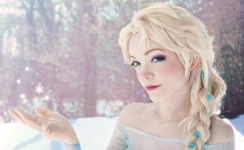 Anna and Elsa (Frozen) photo