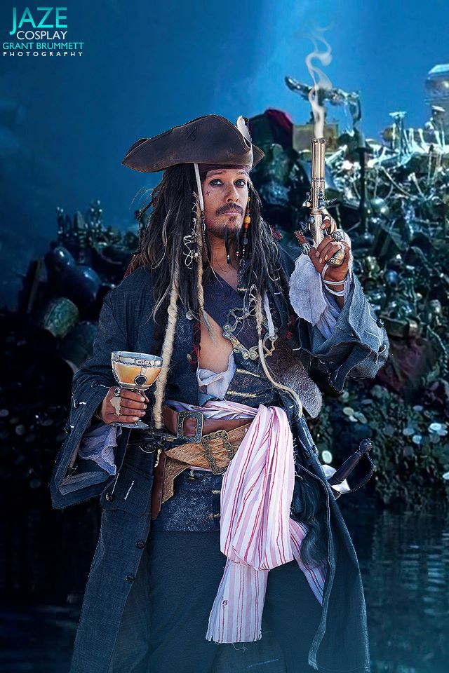 Awesome Jack Sparrow Cosplays