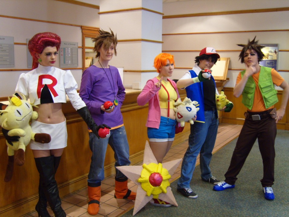 Pokemon Advertures Cosplays