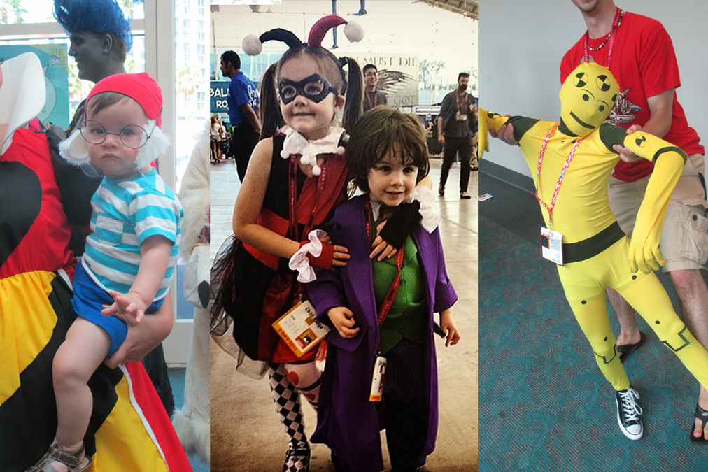 Cosplayers Get Fun from Cosplay