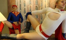 power girl and super girl