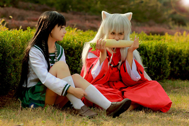 Inuyasha Characters Cosplay A Love Triangle Rolecosplay