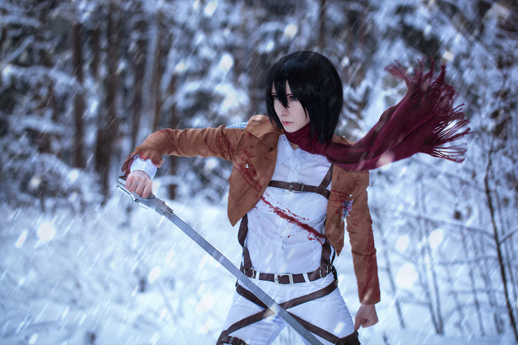 Popular Attack on Titan Characters Cosplay - Rolecosplay