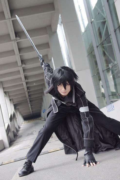 kirito cosplay sword art online1