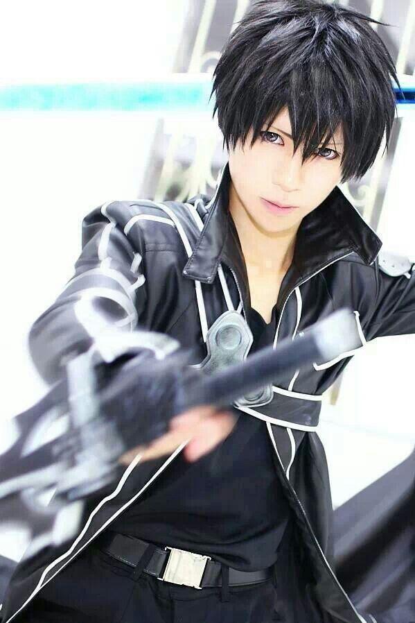 kirito cosplay sword art online5