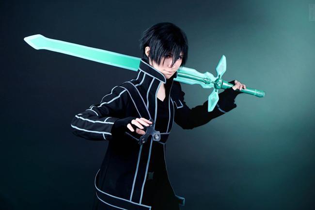 kirito cosplay sword art online8