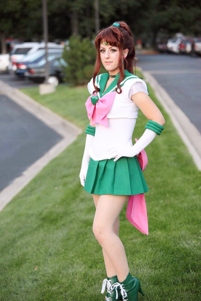 super sailor jupiter cosplay2