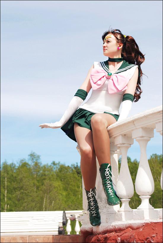 super sailor jupiter cosplay8
