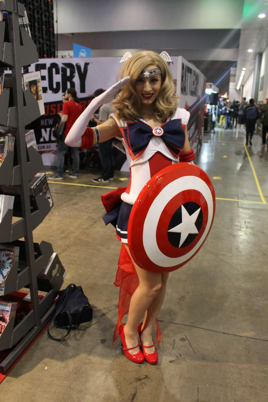 The Most Popular Sailor Moon Crossover Cosplay In 2015