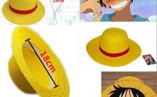 Monkey D. Luffy cosplay straw hat2
