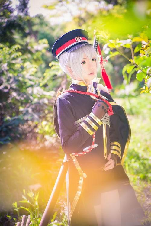 Touken Ranbu Uguisumaru cosplay3