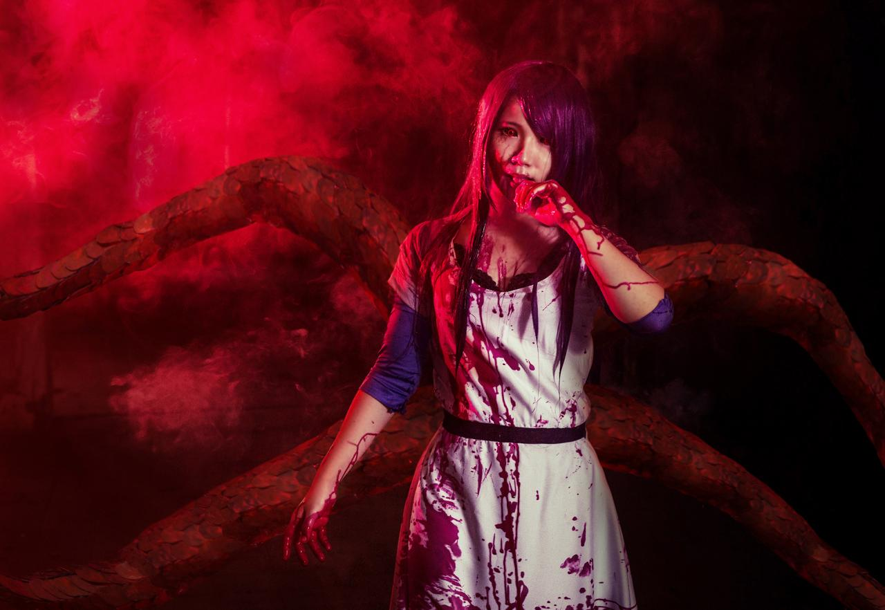 13 Best Tokyo Ghoul Rize Kamishiro Cosplay on wallpaper trends 2015