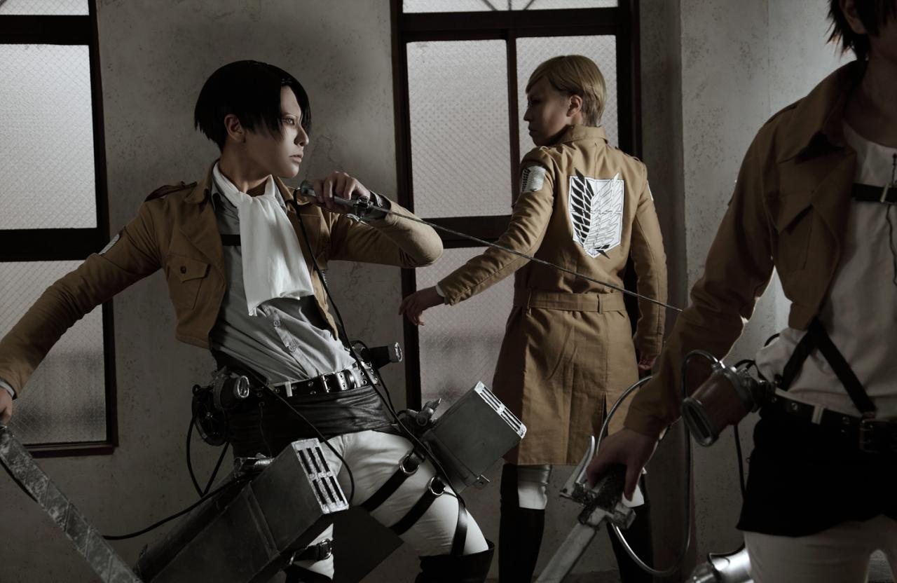 16 Best Attack on Titan Cosplay Photos - Rolecosplay