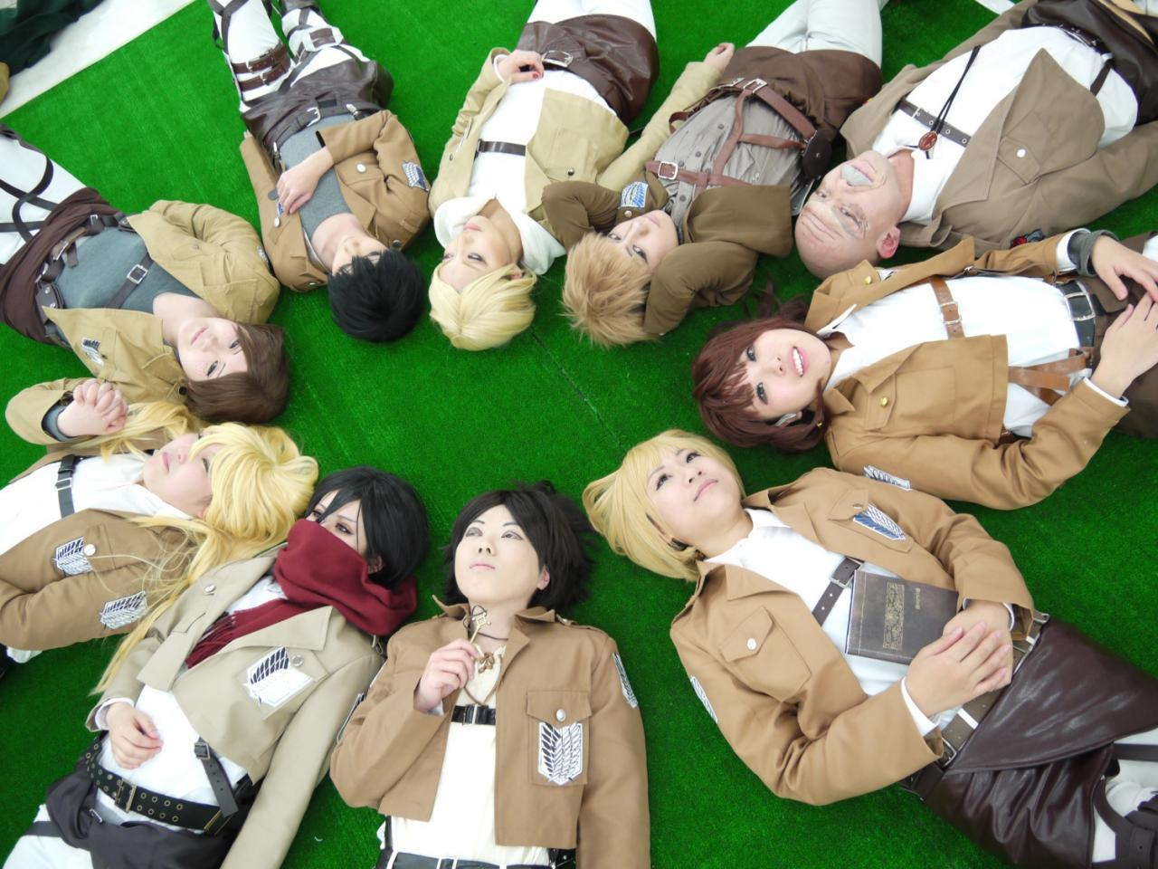 15 Best Attack on Titan Cosplay - Rolecosplay