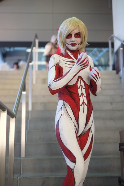 Attack on titan male cosplay