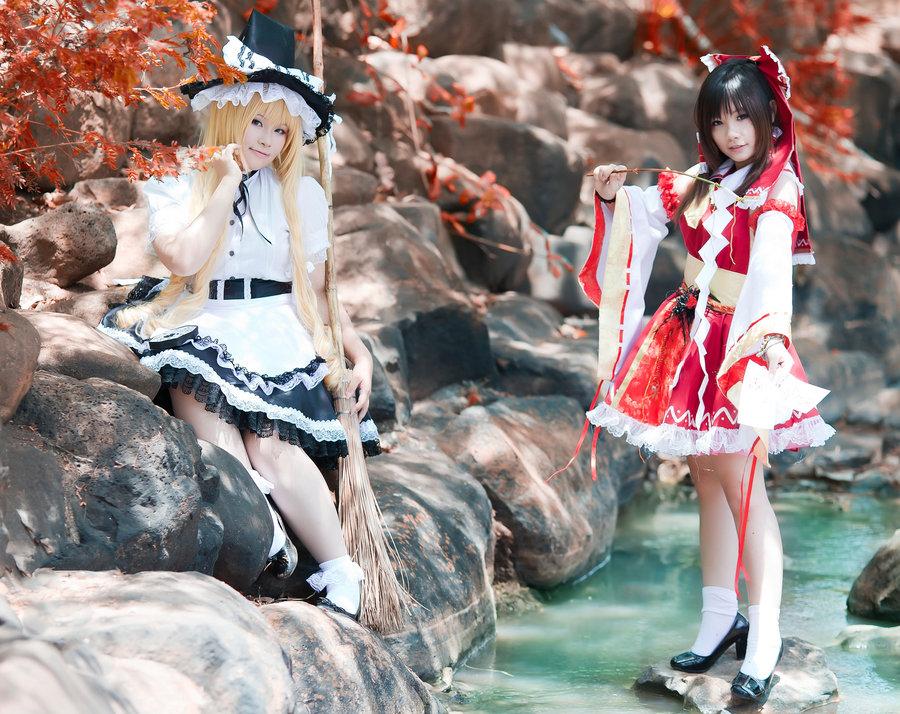 Best Touhou Project Cosplay[25+Pics] Reimu Hakurei, Marisa Kirisame, Sakuya Izayoi, Remilia Scarlet