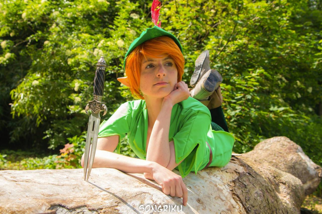 Female peter pan cosplay