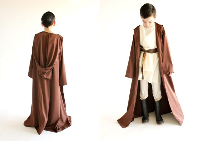 How to Make a Star Wars Robe Costume for Kids