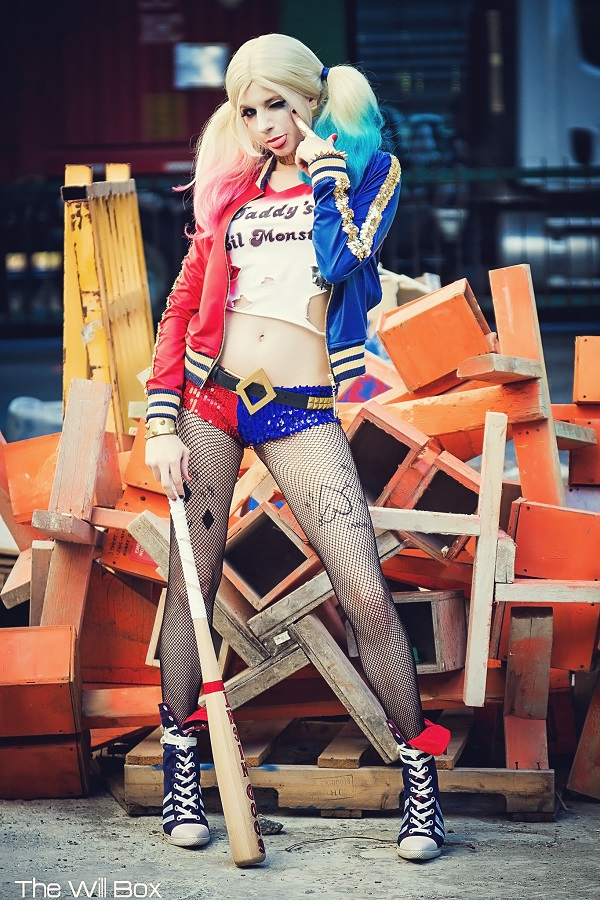 You Will Like This Suicide Squad Harley Quinn Cosplay ...