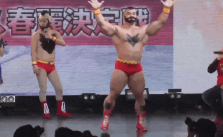 WHAT?! Zangief Cosplayer wins the Miss Chun-Li Cosplay Contest