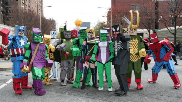 12 Greatest Cardboard Cosplay Ideas