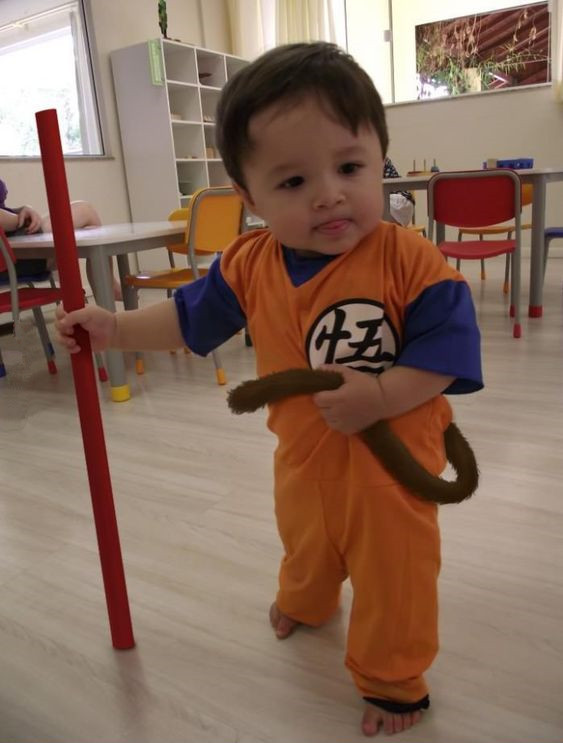 9461dc2651d33 cosplay. This baby boy is super cute in his Dragon Ball Z Gohan costume. Top  9 Cute Kids Dragon Ball ...
