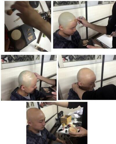 How to Get Best Bald Cap Tutorial for One Punch Man Saitama Cosplay