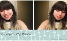 60cm Long Straight Fashion Wig Review for Rolecosplay