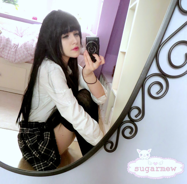 Rolecosplay ♥ Basic Black Wig ♥ Review