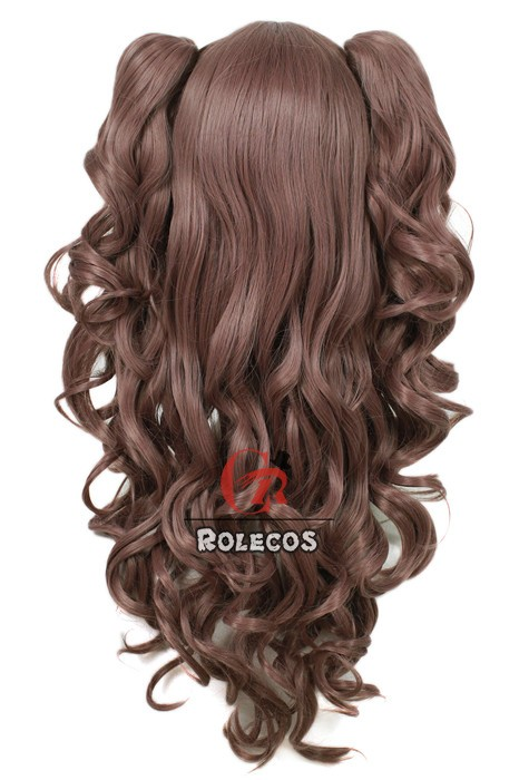 65cm Long Mixed Color Lolita Wig Review for Rolecosplay