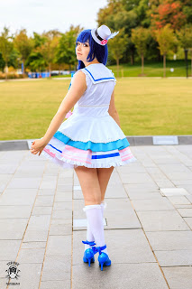 Rolecosplay Review ---- Love Live Sunshine Aqours Yoshiko Tsushima Cosplay Costume
