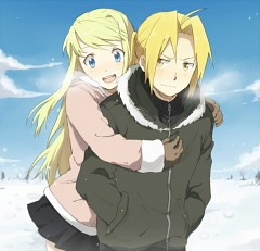 10 Edward Elric & Winry Rockbell
