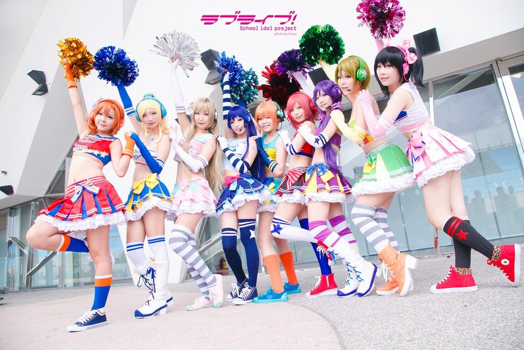 lovelive cheerleader