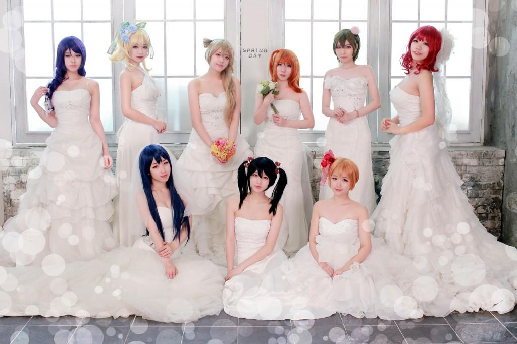 lovelive wedding 2
