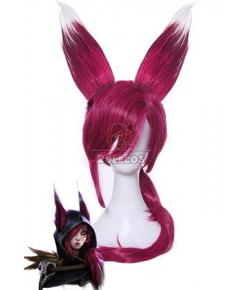league_of_legends_xayah_wine_red_long_straight_cosplay_wigs
