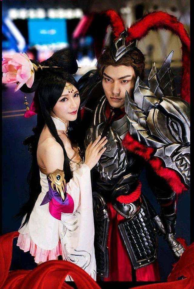 Diao Chan and Lv Bu