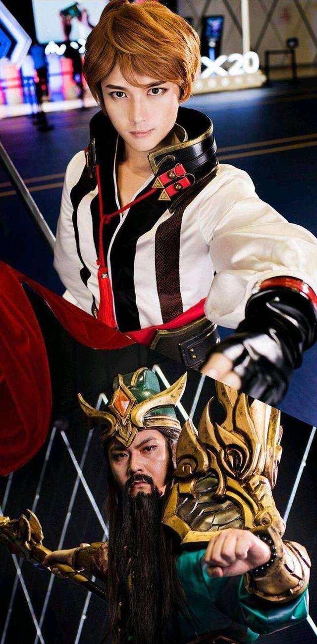Li Bai and Guan Yu