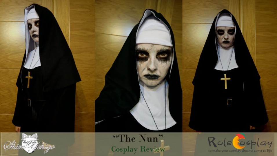 The Nun costume review from Rolecosplay by Shiro Ychigo-1