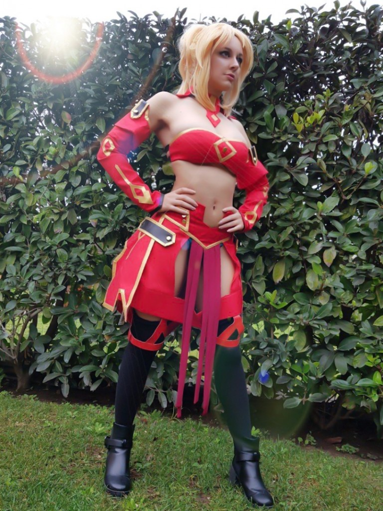 Fate Apocrypha Aka no Saber Costume Review by Virgi4