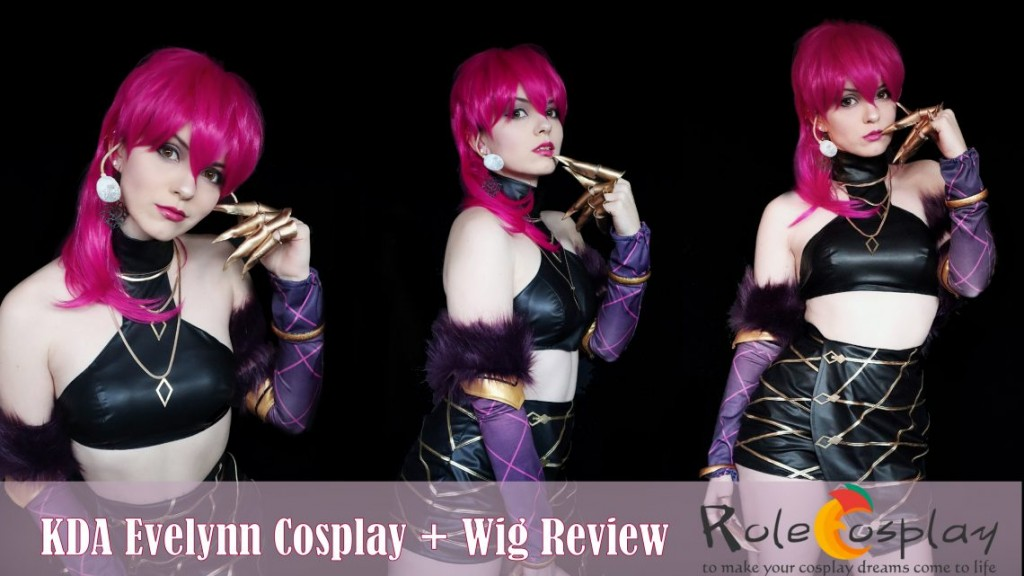 LOL KDA Evelynn Costume + Wig Review by Shiro Ychigo1